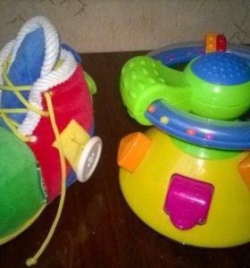 Фирменные игрушки с 6 мес до 2 лет