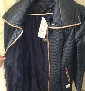 Пальто-плащик демисезонное