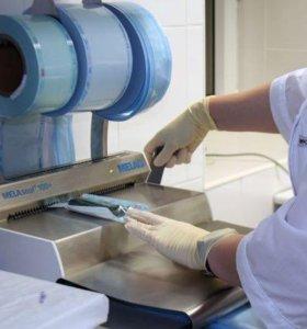 Стерилизационная упаковка в рулонах Клинипак