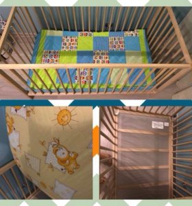 Кроватка Икея +матрас
