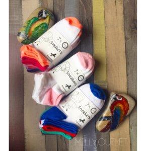 Детские носки 7 пар