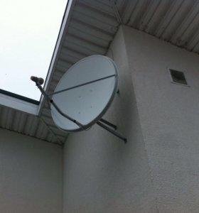 Установка спутниковых антенн. Видеонаблюдение