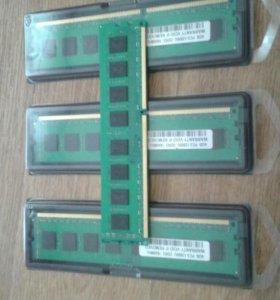 DDR3 1600MHZ 4гб