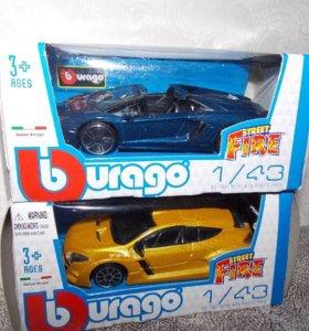 Машинки коллекционные Bburago