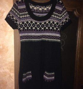 Тёплое платье  46 р-р