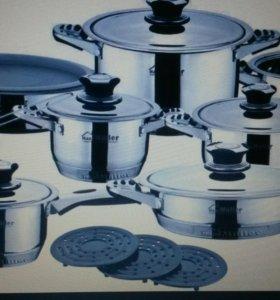 Набор посуды из нержавеющей стали Haus Muller
