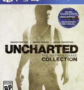 UNCHARTED 1-3 ps 4