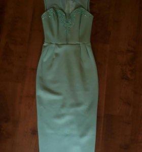 Платье мятного цвета Asos