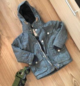 Детская куртка демисезон 104см, 4 года