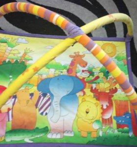 Детский коврик с дугами. За фрукты и сладости.