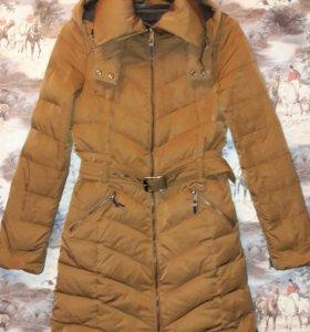 Шикарный пуховик курточка пальто Zara