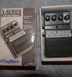 Педаль DigiTech XMM Heavy Metal Master
