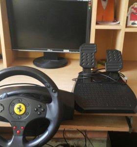 Продаю Игровой руль Ferrari GT Experience