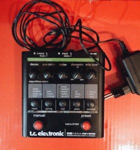 Педаль TC electronic nova reverb