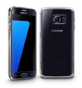 Samsung S7 edge силиконовый чехол