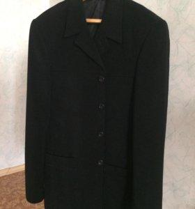 Пиджак мужской чёрный