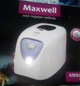 Хлебопечь maxwell mw 3751 w