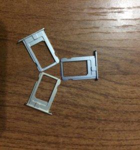 Лоток для sim iPhone 5/5s