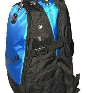 Рюкзак Swissgear, чёрно-синий