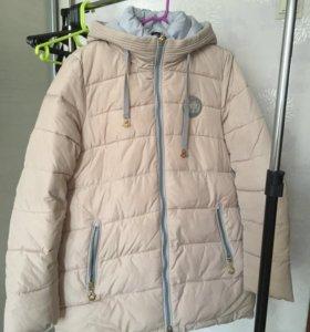 Куртка пуховик на синтепоне