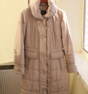 Новое пальто на синтепоне+ Кожаная сумка в подарок
