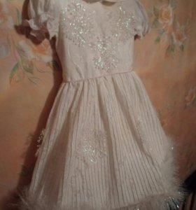 Платье  для снежинки