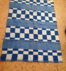 Одеяло полушерстяное 140х100 см