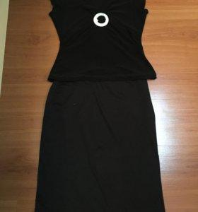 Классика юбка и майка