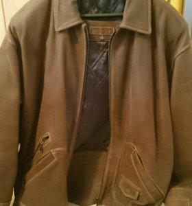 Куртка из кожи буйвола Pretender