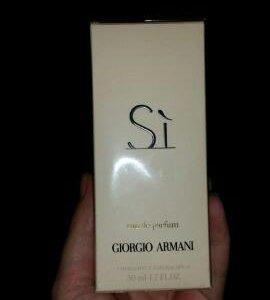 Новый Si Giorgio Armani 50 ml