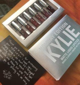 Помады Kylie holiday edition. Оригинал. Новые