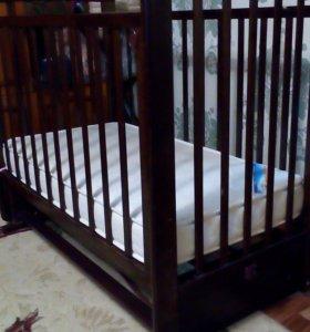 """Детская кровать-маятник""""Марина-,С702"""""""