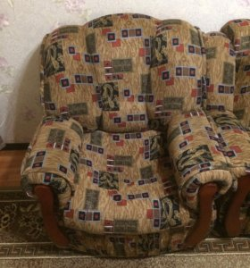 2 Кресла,Диван