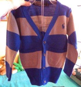 "Брэнд пуловер ""polo"" 1-2г"