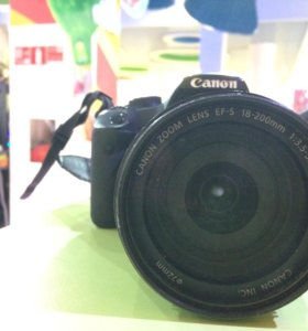 Canon EOS 500d обьектив EF-S 18-200 f 3.5-5.6