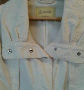 Ветровка-куртка легкая р.50-52 женская