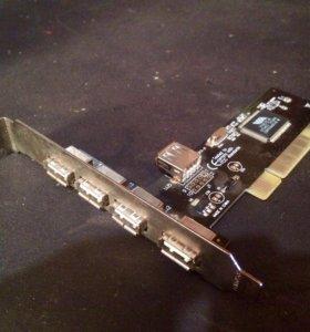 USB разъёмы