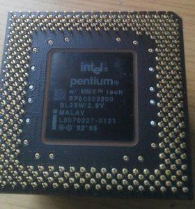 Процессор Intel Pentium MMX BP80503200
