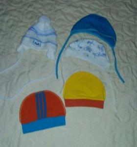 Детские вещи (шапочки)