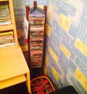Стойка для CD дисков и джойстик