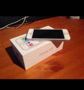 продаю iphone 5s 16 гб срочно