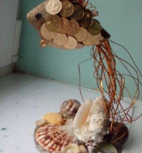 Рыбка из монет