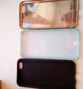 Чехлы силиконовые на iphone 6s.