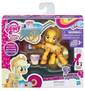 Фигурка пони ЭплДжек  My Little Pony
