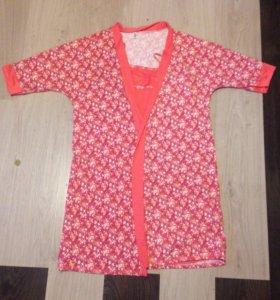 Комплект халат и сорочка