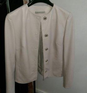 Кожаная куртка MaxMara