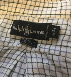 Продам оригинальную рубашку Ralph Lauren,возможен