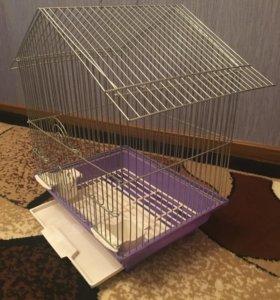 Клетка для волнистого попугайчика