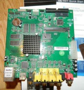 Мат. плата Popcorn Hour B-110, Mini ITX для медиап