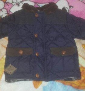 Куртка для маленького мальчика